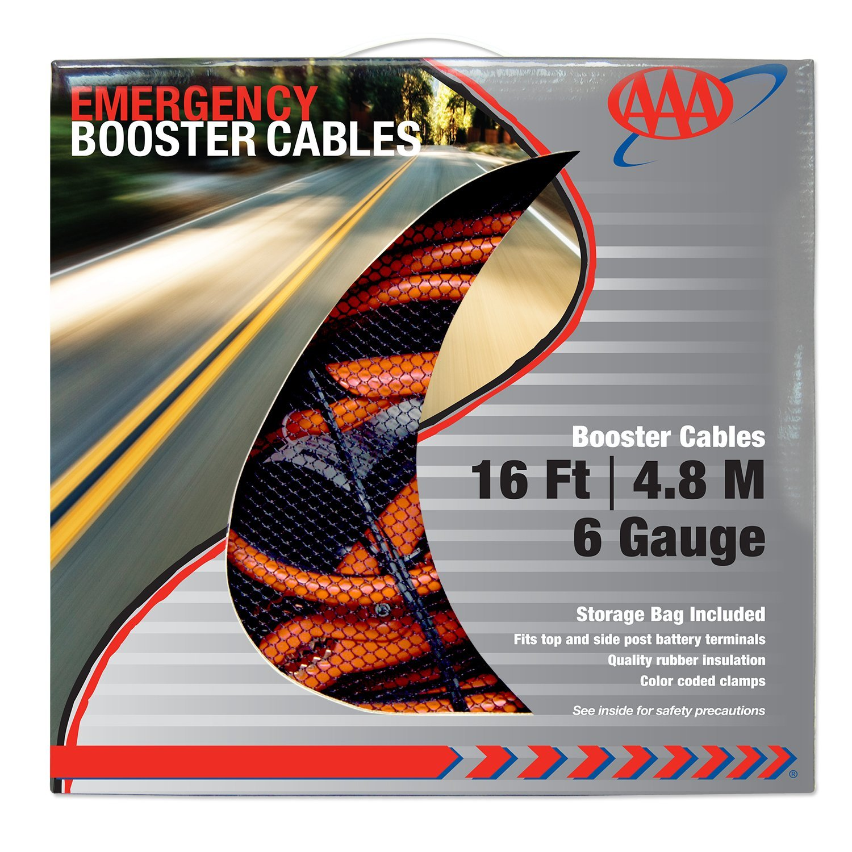 61fe05436 AAA Heavy Duty 6 Gauge Jumper Cables