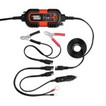 Black & Decker BM3B 6V and 12V Battery Charger Maintainer
