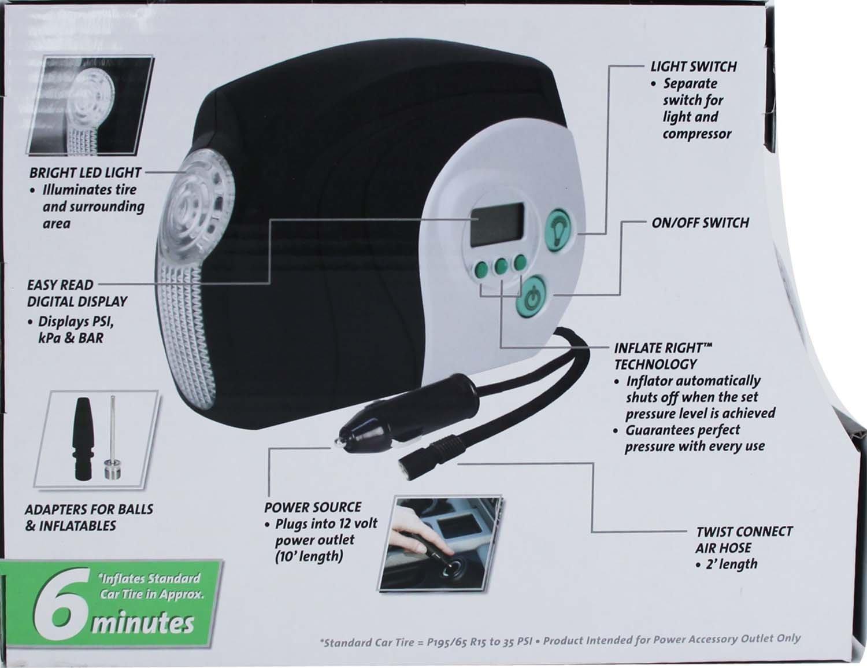 slime  digital portable air compressor save    emergency