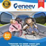 Car Sun Shade for Side and Rear Window (3 Pack)
