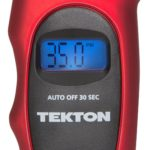 Tekton 5941 100 PSI Digital Tire Gauge Face