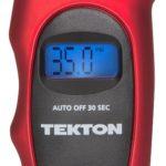 Tekton 5941 100 PSI Digital Tire Gauge Face